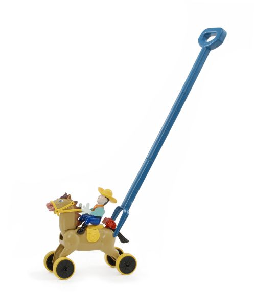 Western Rider Push Toy