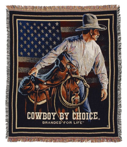 Cowboy by Choice Throw