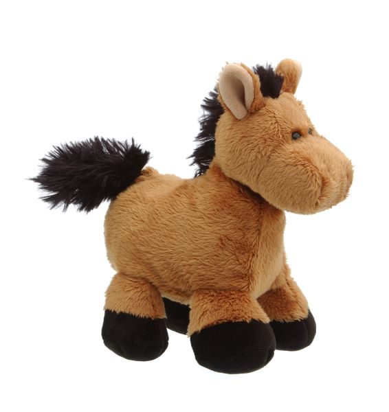 Puffer Belly Plush Horse