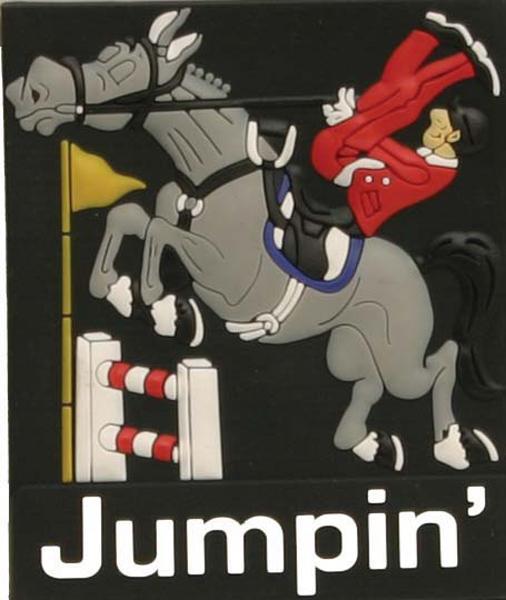 Jumper Refrigerator Magnet.