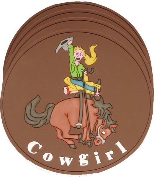 Cowgirl Coaster Set