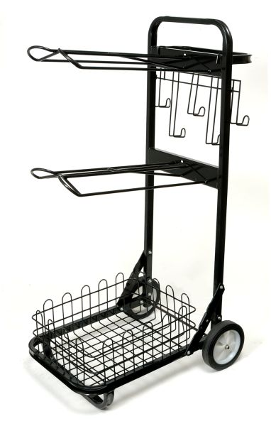 Tough-1 Portable 2 Tier Saddle Rack