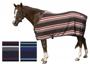 Pessoa Striped Fleece Sheet