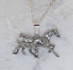 Finishing Touch Large Mare and Foal Pendant