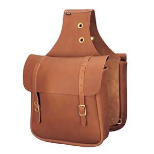 Weaver Chap Leather Saddle Bag