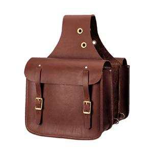 Weaver Heavy-Duty Leather Saddle Bag