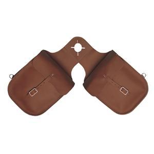 Weaver Chap Leather Pommel Bag