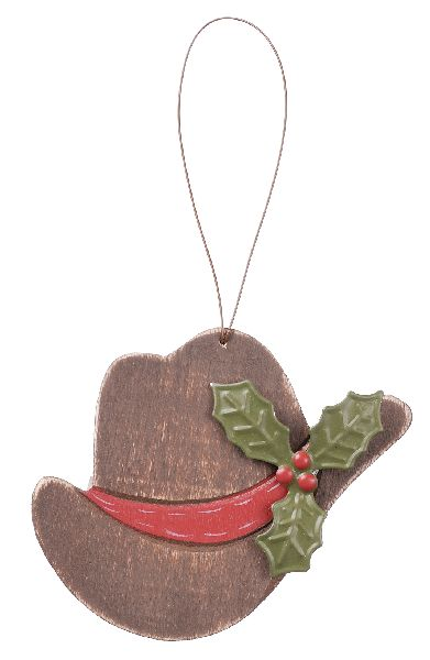Gift Corral Cowboy Hat Ornament