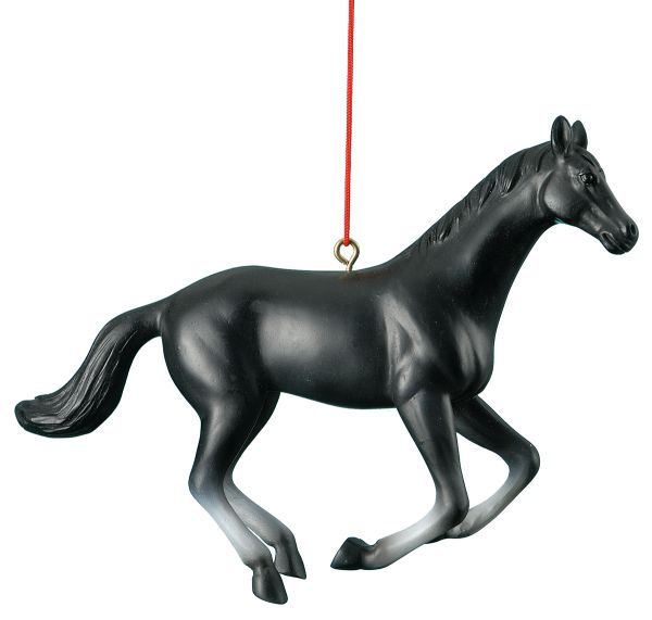 Horse Blk Ornament