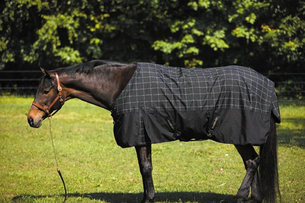 TuffRider 1680 D Plaid Turnout Sheet