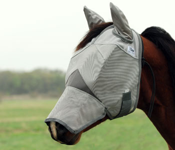 Crusader Fly Mask - Long Nose with Ears
