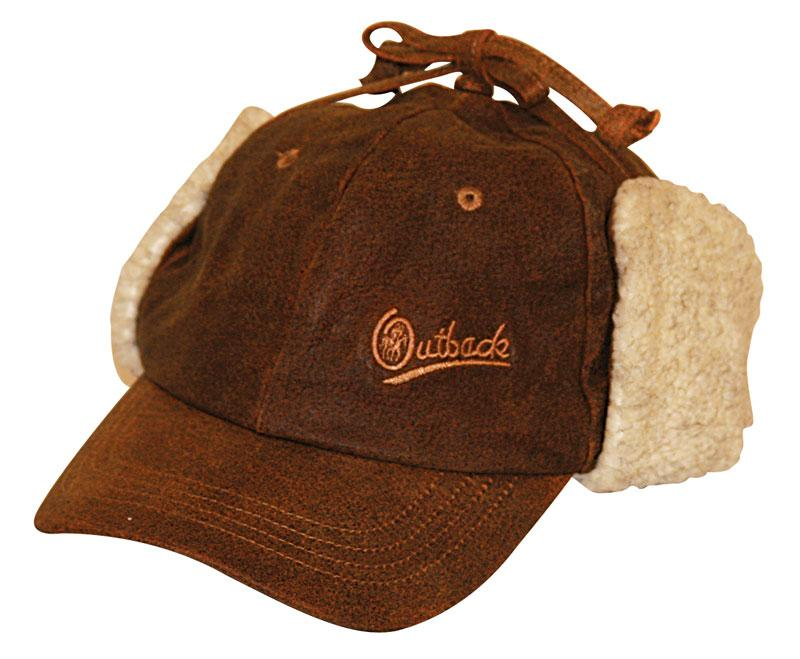Outback Trading Leather Mckinley Cap