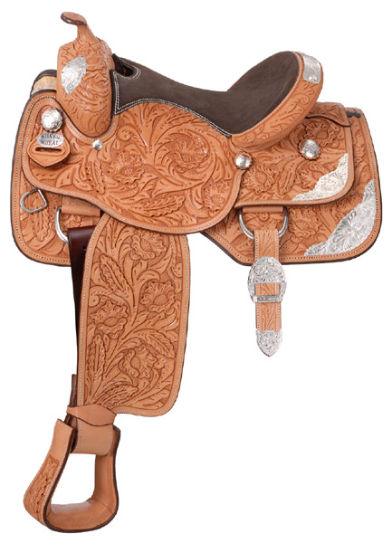 Silver Royal Grand Majestic Youth Show Saddle