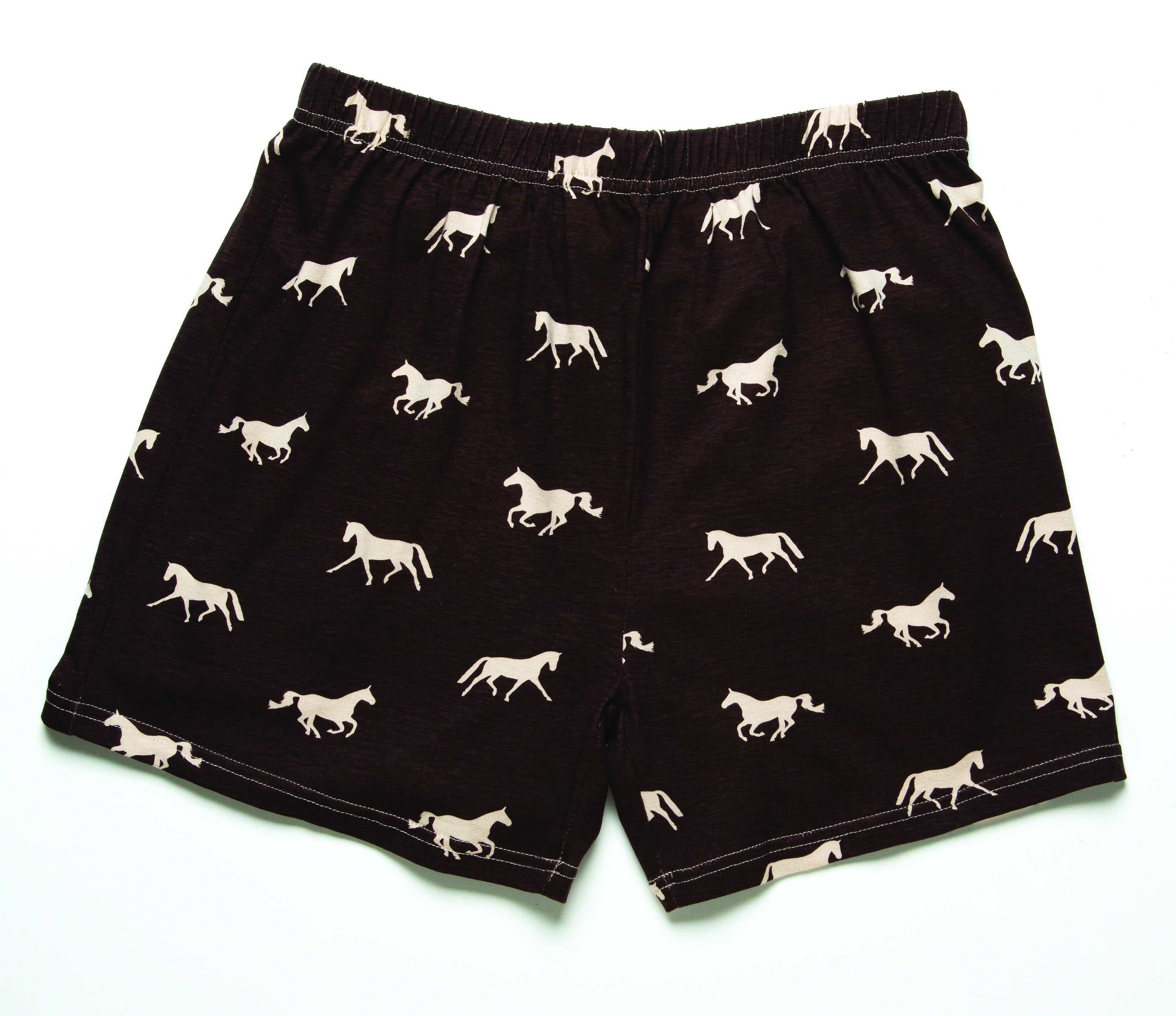 Horses N Chocolate Boxer Shorts