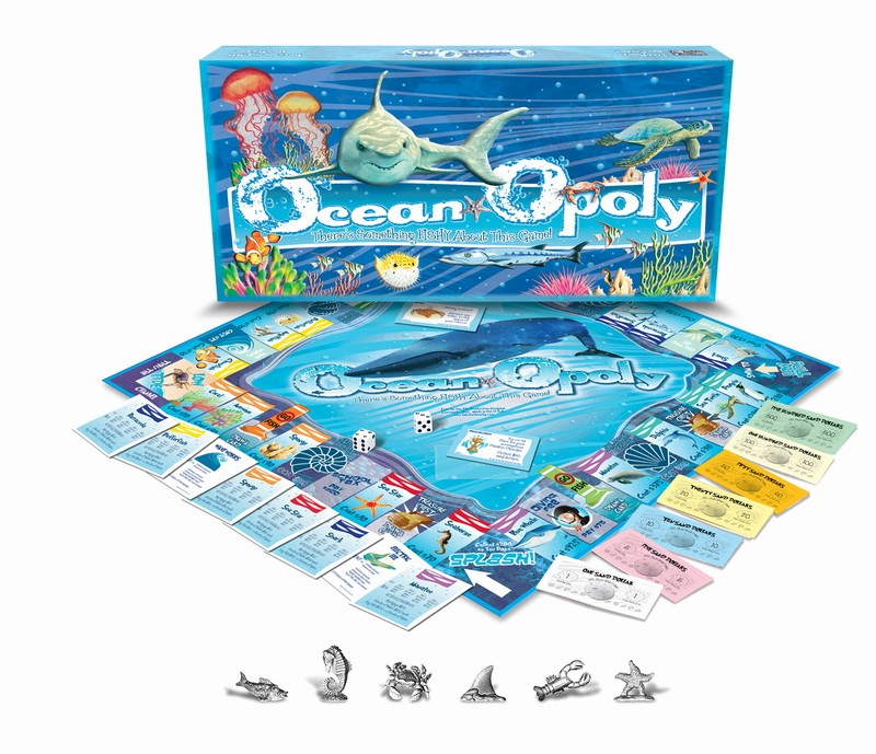OCEAN-OPOLY: There's Something Fishy About This Game!