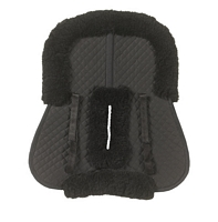 Ovation Sheepskin Half Pad Roll Edge