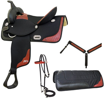 Abetta Gator Trim Saddle Package