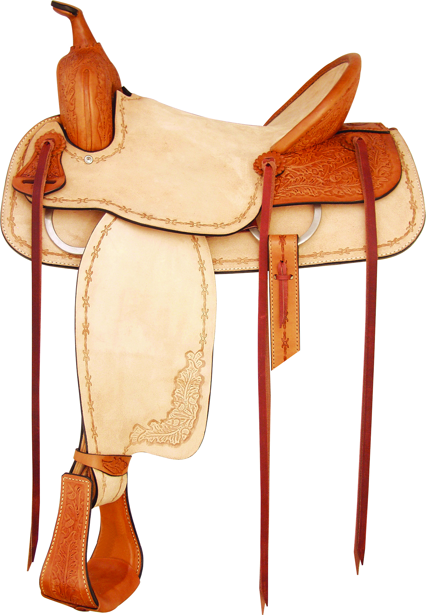 Tex Tan Santa Fe Ranch Saddle