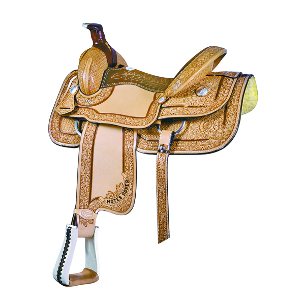 Saddlesmith Of Texas Motes Border Tool Roper Saddle
