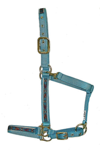 Ronmar Nylon Halter with Snap - Aztec Arrows