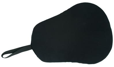 BLACK SADDLE CUSHION SEAT