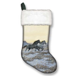 Winter Christmas Holiday Stocking