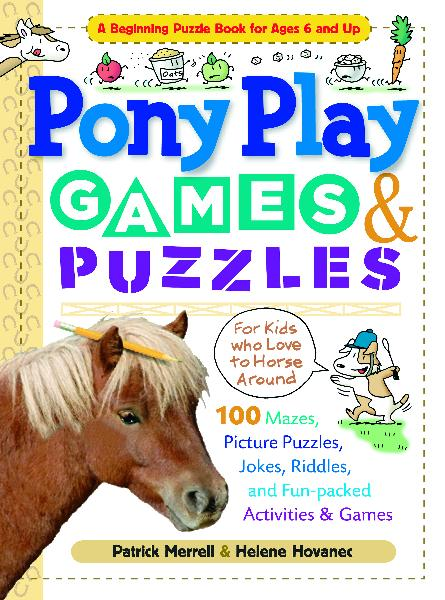 Pony Play Games & Puzzles Book for Kids