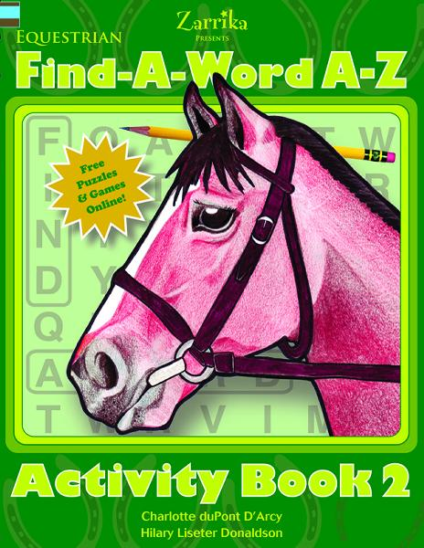 Equestrian Fill-In-A-Word Book
