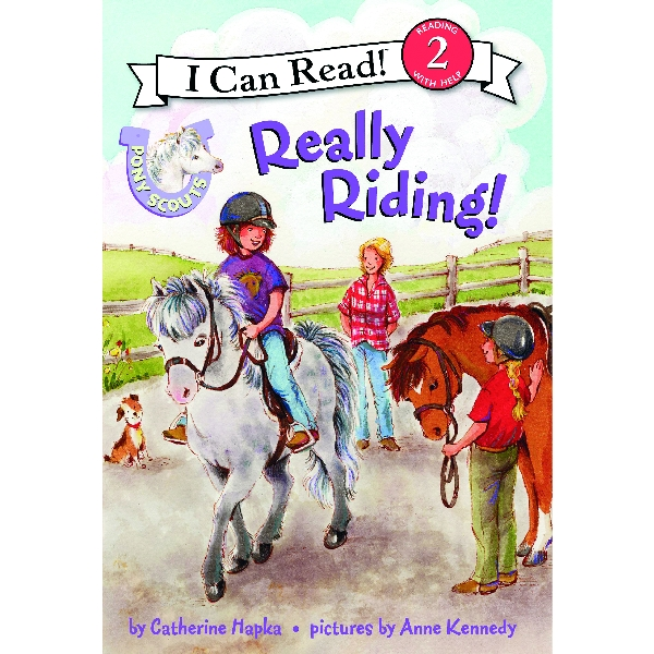 Pony Scout Children's Book - Really Riding!