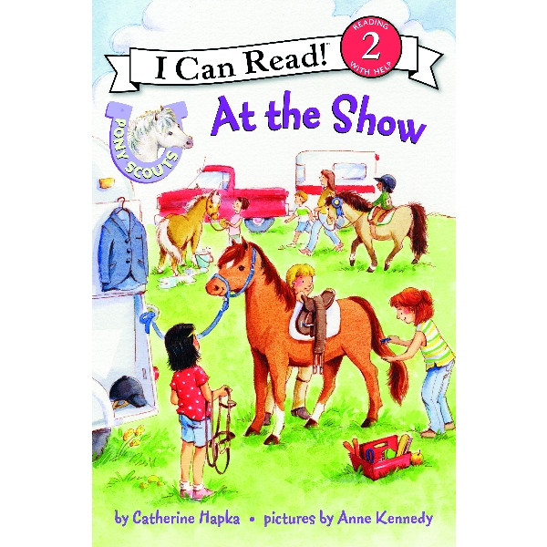 Pony Scout Children's Book - At the Show