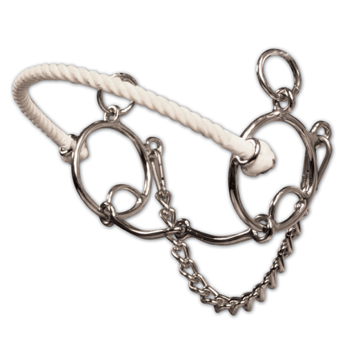 PC Brittany Pozzi Twisted Wire Snaffle