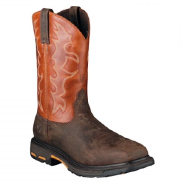 Ariat Men's WORKHOG Wide Square Composite Toe Workboot