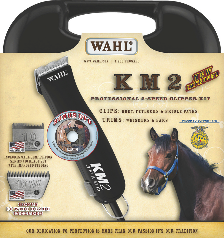 Buy Wahl KM2 Clipper with Blades get FREE Wahl Chromini Trimmer