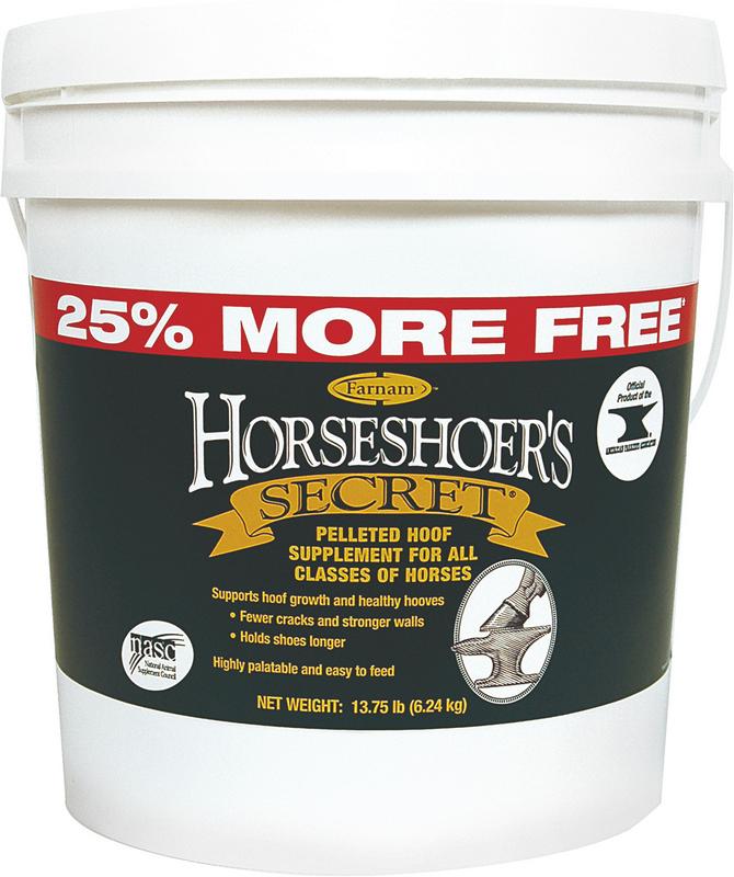 Horseshoers Secret 25% More