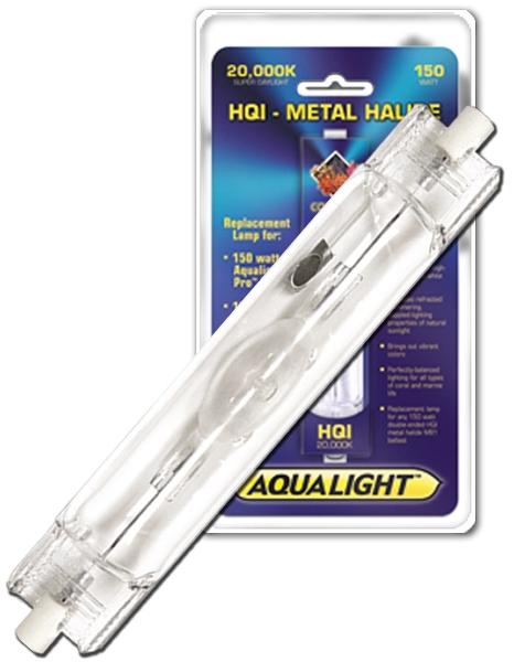 Coralife 20000K Double-Ended HQI Metal Halide Aquarium Lamp