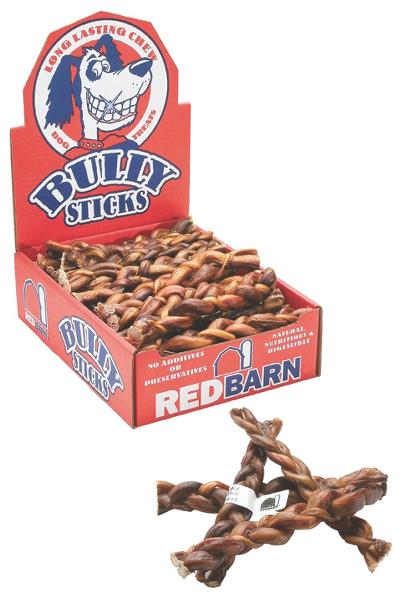 Red Barn Braided Bully Treat