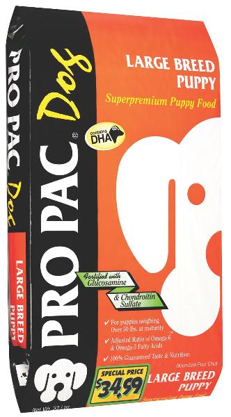 Pro Pac Large Breed Puppy Food