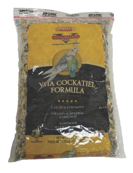 SUNSEED Vita Cockatiel Food