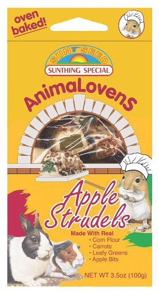 SUNSEED Animalovens Apple Strudel Treat