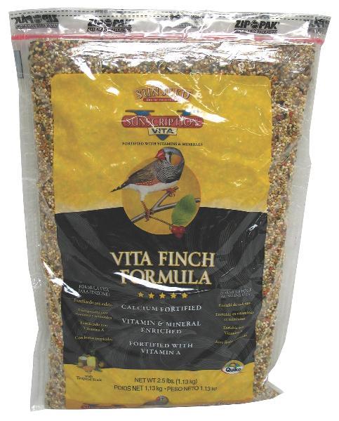 Sunseed Vita Finch Food