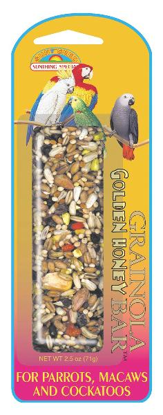 SUNSEED Grainola Golden Honey for Large Hookbills