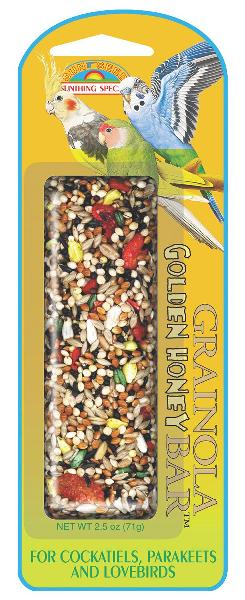SUNSEED Grainola Golden Honey for Small Hookbills