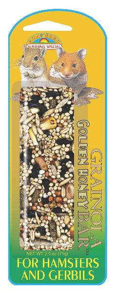 SUNSEED Grainola Golden Honey for Hamsters and Gerbils