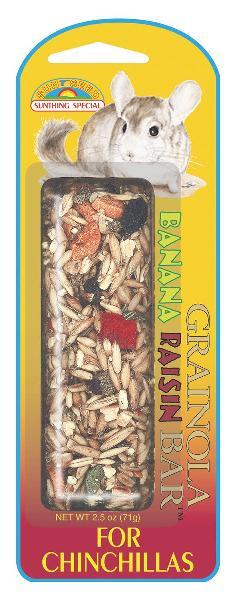 SUNSEED Grainola Banana/Raisin Treat for Chinchillas