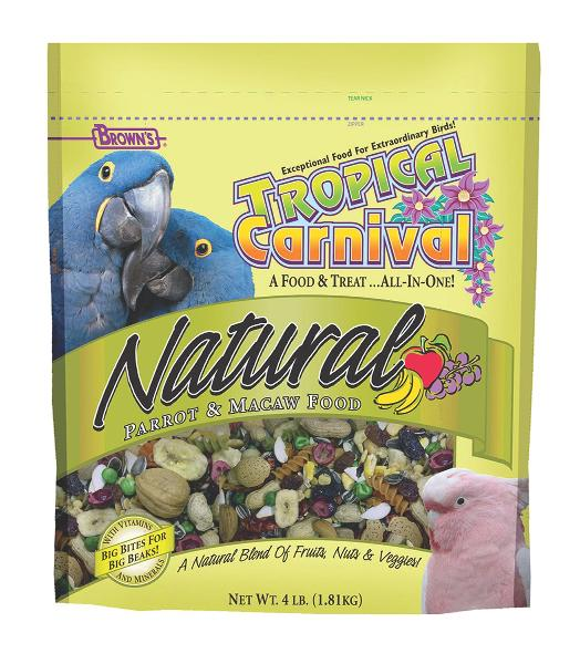 Tropical Carnival Macaw Food