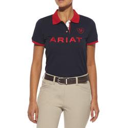 Ariat Womens Team Logo Polo Shirt