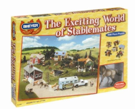 Breyer The Exciting World Of Stablemates 1,000 Pc Puzzle - BH46004