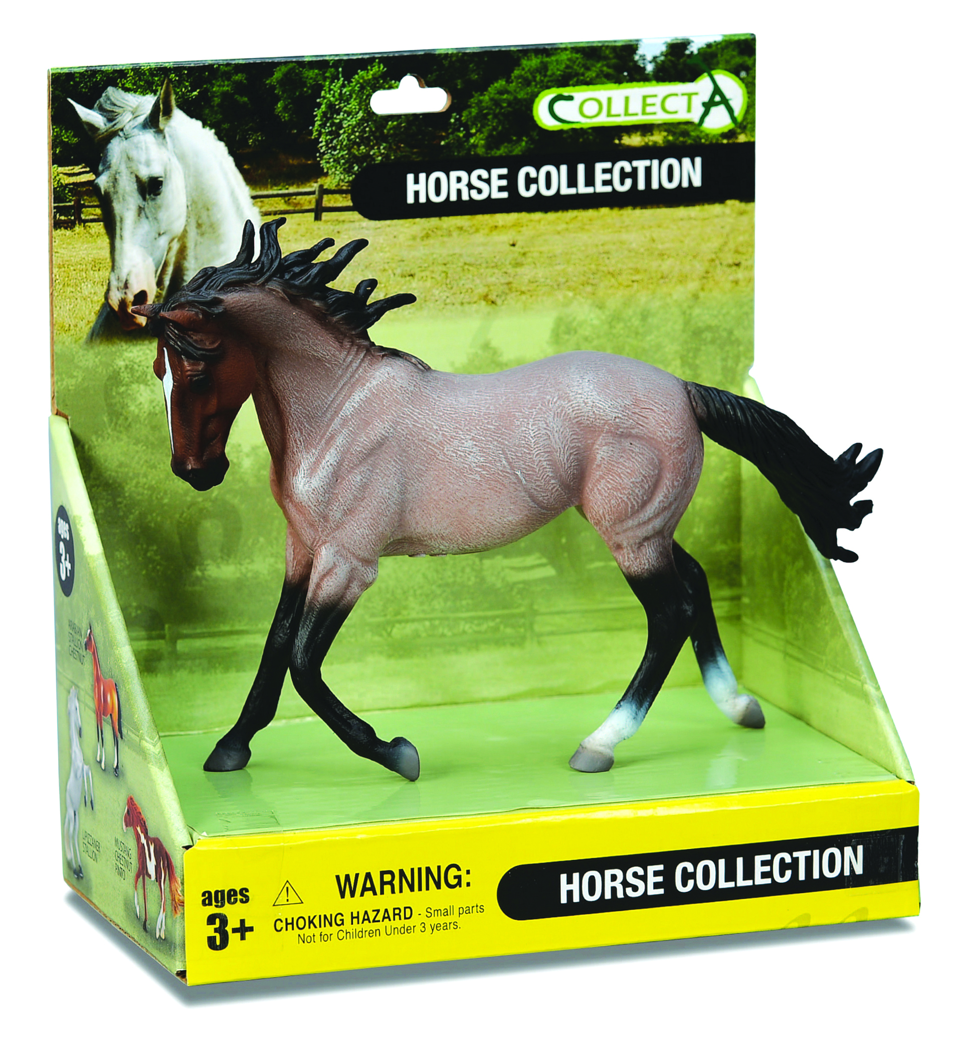 CollectA Bay Roan Horse Box Set