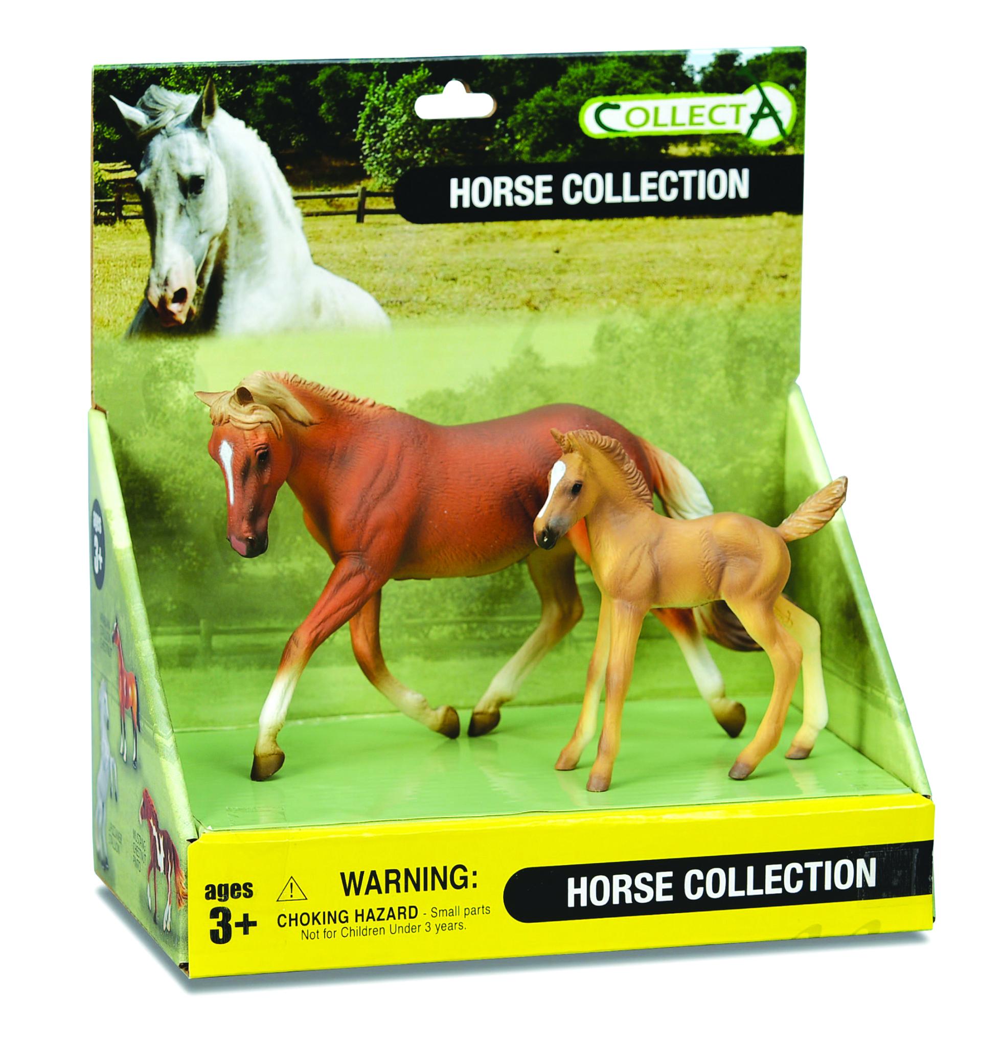 CollectA Palomino Mare & Palomino Foal Box Set