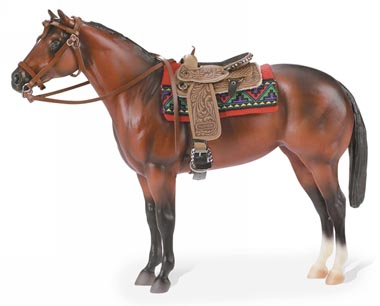 Breyer - Cimarron-Western Pleasure Saddle